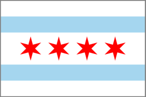 City of Chicago Flag