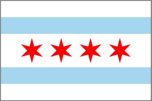 City of Chicago Flag